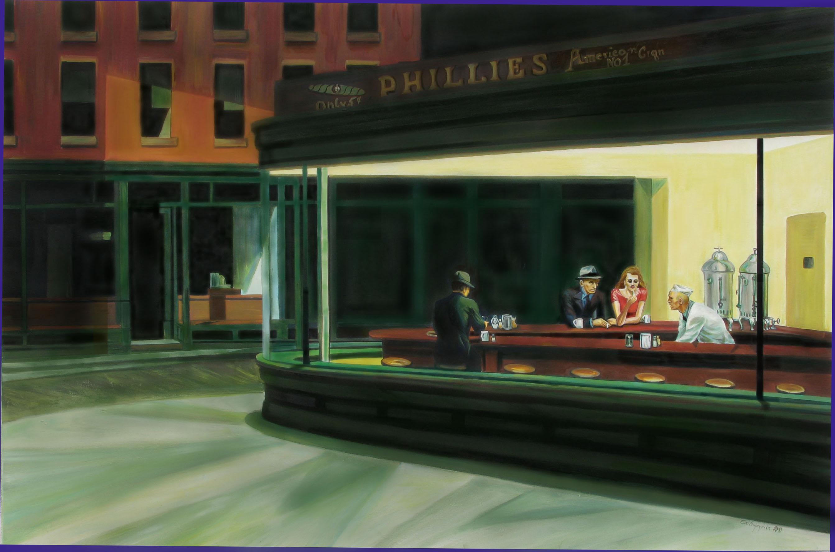 Hopper Nighthawks | www.imgkid.com - The Image Kid Has It!
