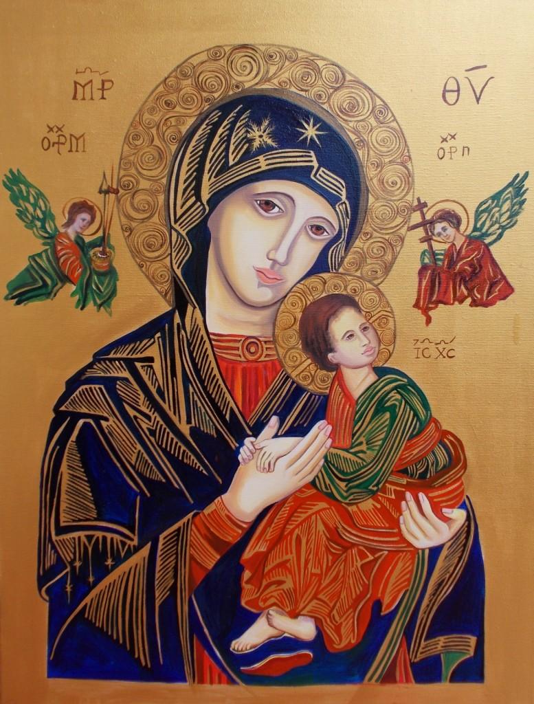 Matka Boska Nieustającej-Pomocy 55x75cm