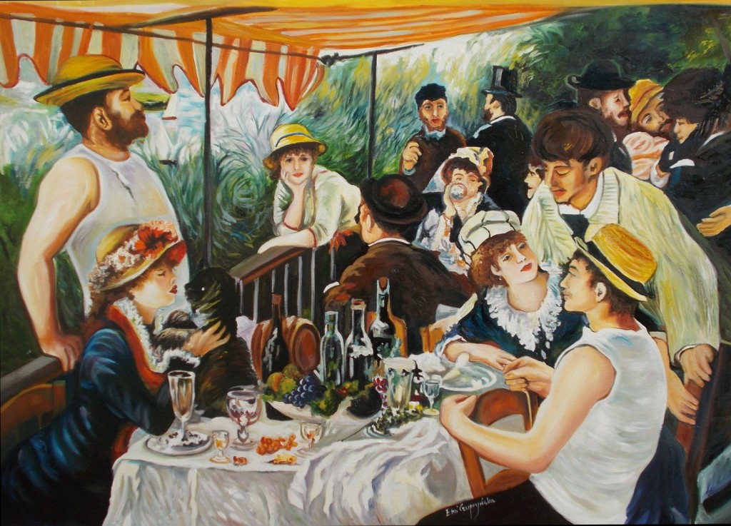 Pierre-AugusteRenoire-Śniadanie Wioslarzy