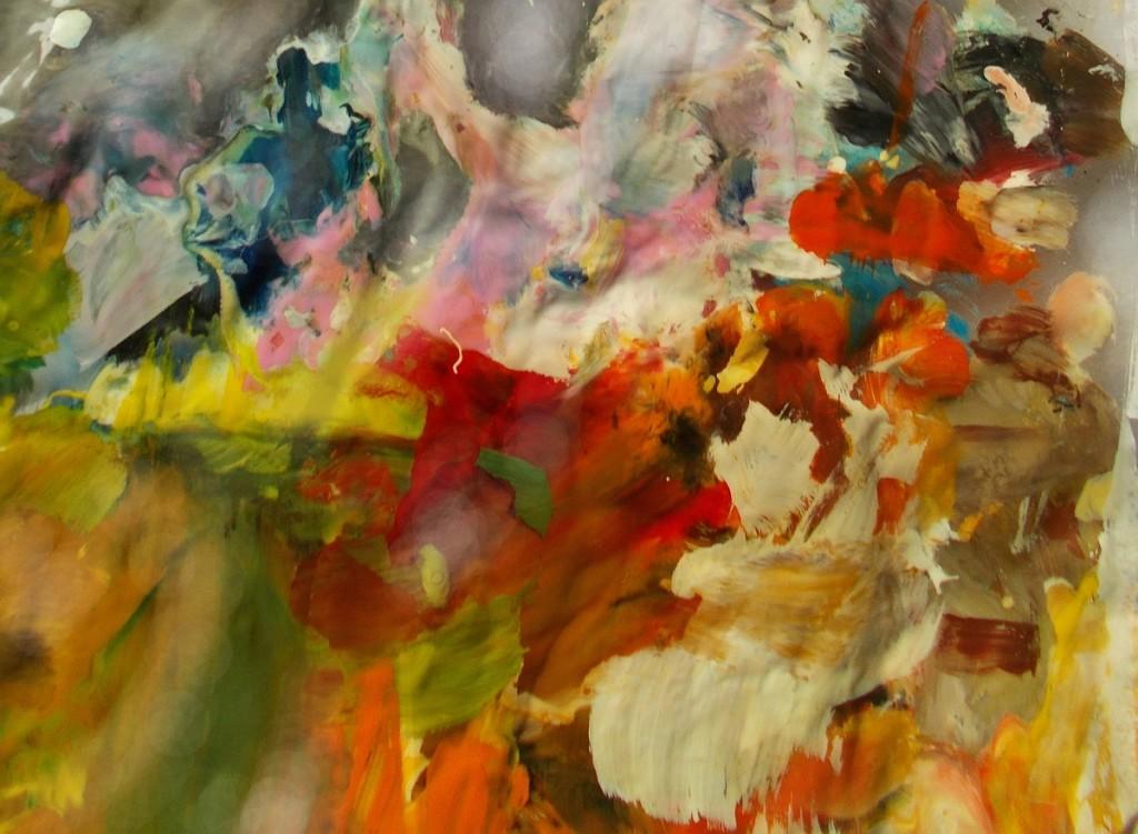 obrazy olejne abstrakcja czerwienie
