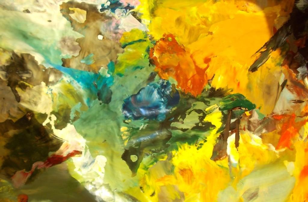 obrazy olejne abstrakcja pustynna
