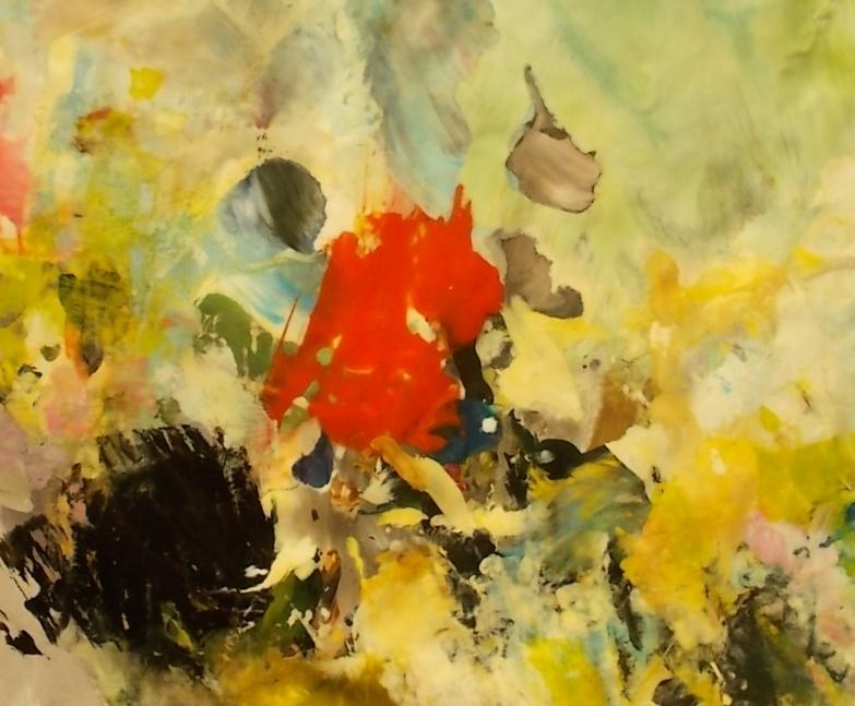 obrazy olejne - abstrakcja sprzeczność