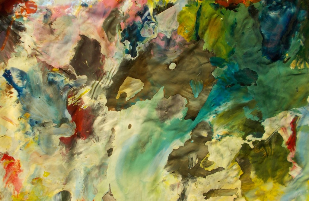 obrazy olejne abstrakcja ziemia
